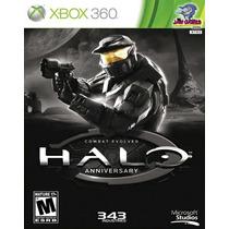 Jogo Xbox 360 - Halo Aniversary - Usado