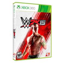 Jogo Novo Lacrado Wwe 2k15 Para Xbox 360