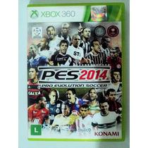 Jogo Pes 2014 - Ntsc - Original Para Xbox 360