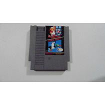 2 Em 1: Super Mario Bros Duck Hunt Nes Original Nintendinho