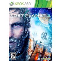 Lost Planet 3 Xbox 360 Original Mídia Física Jogo X360 Lp3