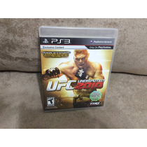 Jogo / Game Ps3 - Ufc Undisputed 2010