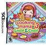 Jogo Ds Cooking Mama 3 Shop E Chop