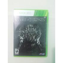 Game Of Thrones ( Jogo Original Xbox360 Mídia Física )