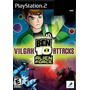 Jogo Ps2 - Ben 10 - Alien Force - Vilgax Attacks