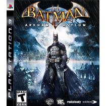 Batman Arkham Asylum - Ps3 - Psn - Somos 100% Positivo!