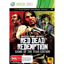 Red Dead Redemption Game Of The Year Xbox 360 Lacrado