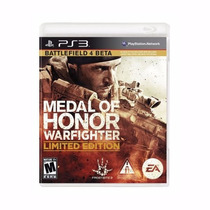 Jogo Medal Of Honor Warfighter Battlefiel Limited Edition P/