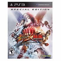 Street Fighter X Tekken Special Edition - Ps 3 - Lacrado