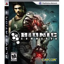 Bionic Commando - Ps3 - Ótimo Estado - Frete 12,00