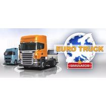 Jogo Euro Truck Simulator- Plataforma Steam Gif