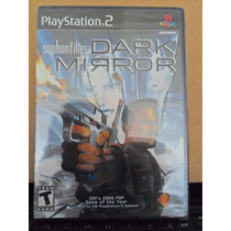 Jogo Ps2 Syphon Filter - Dark Mirror - Lacrado