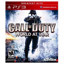 Call Of Duty World At War - Ps3 - Lacrado Original