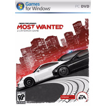 Game Jogo Need For Speed Most Wanted Para Pc Mídia Física