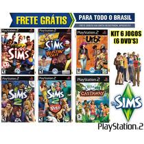 The Sims Ps2 (kit 6 Jogos Patch) - Frete Grátis