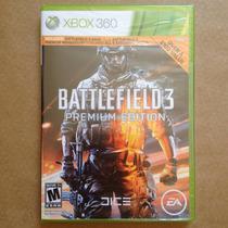 Battlefield 3 Premium Edition, Xbox 360. Original Lacrado!