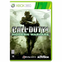 Call Of Duty 4 Modern Warfare Xbox 360 Mídia Física + Brinde