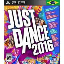 Just Dance 2016 Ps3 Codigo Psn Português Receba Hoje