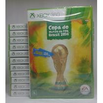 Fifa Copa Do Mundo 2014 Original, Lacrado Xbox 360 Rcr Games