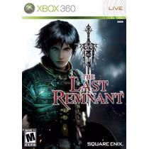 Jogo Xbox360 - The Last Remnant (m.física/original/ntsc)