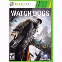 Watch Dogs Xbox 360 Lacrado 100% Português - Frete 10,00