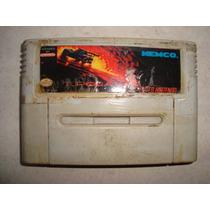 Cartucho Super Nintendo - Top Gear 2 -