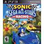 Sonic Sega All Stars Racing Original Ps3 Em Disco