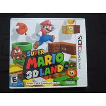 Jogo Mario Super Mario 3d Land Nintendo 3ds Original