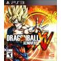 Dragon Ball Z Xenoverse Xv Português Mídia Física Ps3