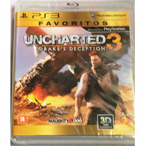 Ps3 - Uncharted 3 Drake