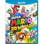 Super Mario 3d World - Wii U Lacrado