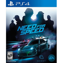 Need For Speed Novo - Ps4 - Conta Secundária