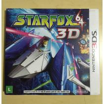 Star Fox 64 3d - Nintendo 3ds - Novo Lacrado Com Luva!!!