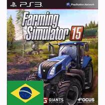 Farming Simulator 15 Ps3 Código Psn