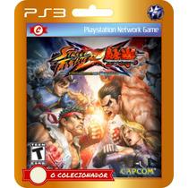Street Fighter Vs Tekken (código Ps3) - Envio Rápido!
