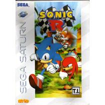 Sonic R Sega Saturn Novo Lacrado! Excelente Valor! A+++