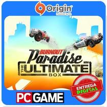 Burnout Paradise: The Ultimate Box Origin Cd-key Global