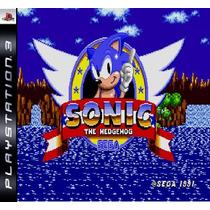 Sonic The Hedgehog Ps3 Psn Midia Digital Original