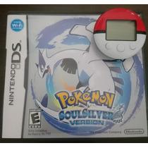 Pokemon Soul Silver + Pokewalker (perfeitas Condições)