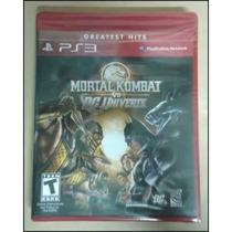Mortal Kombat Vs.dc Universe-ps3 Lacrado