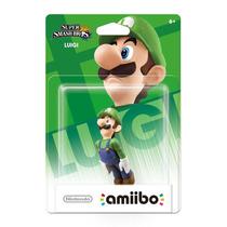 Amiibo Luigi Super Smash Bros New Nintendo 3ds Wii U