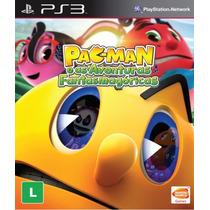 Pac-man E As Aventuras Fantasmagóricas - Jogo Infantil Ps3