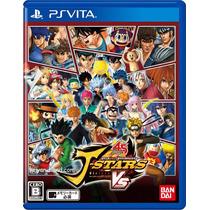 J-stars Victory Vs - Psvita - Japonês - Usado / Impecável !!