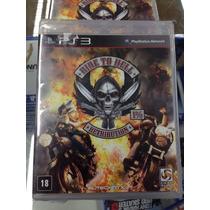 Ride To Hell Retribution Ps3 Lacrado ! Promoção Jogo Moto