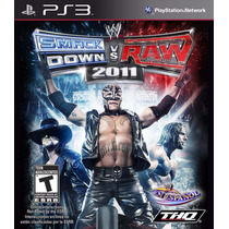 Jogo Smackdown Vs. Raw 2011 - Wii - Original E Novo