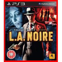 La Noire Ps3 Psn + Brindes Promocao
