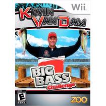 Jogo Pesca Kevin Van Dam Big Bass Challange Wii Novo Lacrado