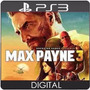 Max Payne 3 Portugues Ps3 Código Psn Play3 Jogo Digital