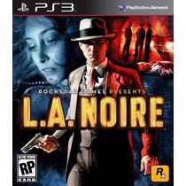 L.a. Noire Jogo Ps3 Original Lacrado