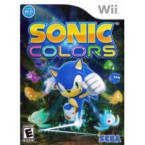 Sonic Colors Wii Original Completo
